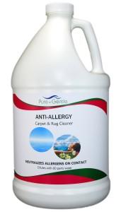 Anti-Allergy Carpet Cleaner-Gallon