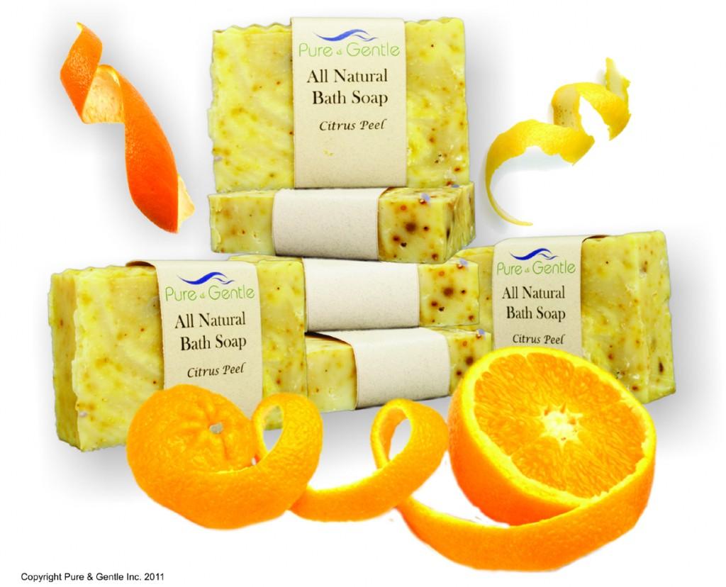 Citrus Peel Beauty & Bath Bar